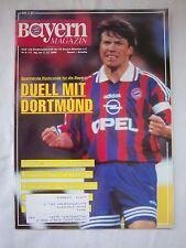 Orig.PRG   1.Bundesliga  1995/96   FC BAYERN MÜNCHEN - FC SCHALKE 04  !!
