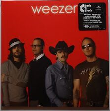 Weezer-Red ALBUM LP/download 180g VINILE NUOVO/SEALED GATEFOLD SLEEVE