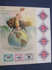 The Pan-American Inverts Sheet #3505