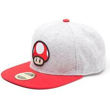 Nintendo - Super Mushroom Snapback Adjustable Cap- New & Official With Tag
