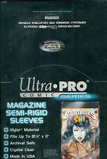 """Mylar Magazine Size 8-1/2"""" X 11"""" Bags (100 count box)  Ultra pro 4 Box Lot"""