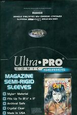 "Mylar Magazine Size 8-1/2"" X 11"" Bags (100 count box)  Ultra pro"