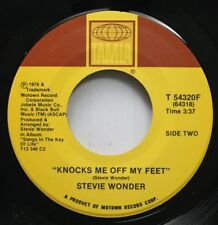 Soul 45 Stevie Wonder - Knocks Me Off My Feet / I Ain'T Gonna Stand For It On Ta
