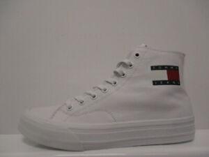 Tommy Hilfiger Jeans Flag Canvas Mens Trainers UK 7 US 8 EUR 41 REF M1126