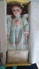 "Seymour Mann Porcelain Doll ""Marcey"" Mint In Original Box New & Rare"