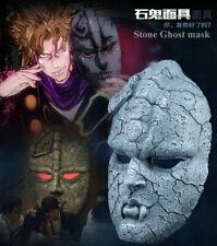 JoJo's Bizarre Adventure Stone Ghost Mask Resin Cosplay Halloween Party Props