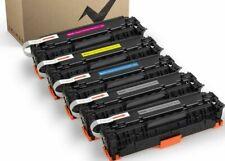5 Pack Toner Cartridge HP CE410X CE411A2A3A MFP M451nw M451dw M475dw M475dn