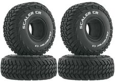 "NEW Duratrax Rock Crawler 1.9"" Scaler CR C3 Tire Set (4) DTXC4016"