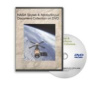 NASA Skylab & Apollo / Soyuz Document Collection DVD - A647