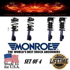 Monroe 181672 & 181686  Econo-Matic Quick Strut/Spring Assembly  SET OF FOUR