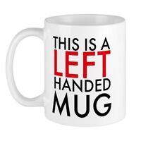 CafePress This Is A Left Handed Mug 11 oz Ceramic Mug (1288425559)