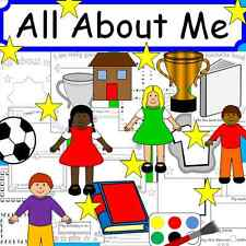 ALL ABOUT ME - New term, Ourselves- teaching resources on CD EYFS KS1 KS2