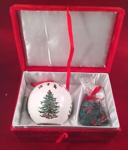 Christmas Tree SPODE Fragrance Potpourri Pomander Ornament Formalities Baum Bros