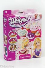 WHIPPLE Cupcakes Set Cake Decoration Toy Set Decorate Cup Cake New