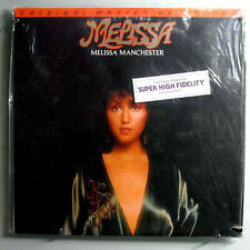 MELISSA MANCHESTER~MELISSA~RARE SEALED ORIG '80 MFSL LTD EDITION AUDIOPHILE LP
