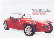 Westfield SE/SEi Ford based kit car original colour Sales Brochure