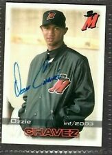 2003 Grandstand #3 Ozzie Chavez High Desert Mavericks signed autograph (A33)