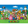 Super Mario - Characters POSTER 61x91cm NEW * Luigi Peach Yoshi Bowser Oompa