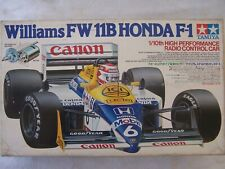 TAMIYA 1/10 Scale Williams FW 11B HONDA F1 Formula RADIO CONTROL CAR N Mansell