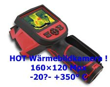 Wärmebildkamera Thermal Imaging Camera Termo High Resolution 162x120 -20℃- +350℃