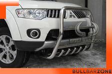 !!!+!MITSUBISHI L200 2011 TUBO PROTEZIONE ALTO BULL BAR INOX STAINLESS STEEL