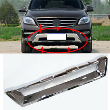For Mercedes-Benz ML ML350 ML500 2012-2015 Front Bumper Lower Chrome Trim Cover