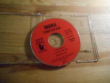 CD Pop Indra - Temptation (2 Song) Promo HANSA disc only