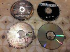 Rise of Nations & CEASAR 3 CIVILIZATION 3 DVD MOVIES  ARABIC PC GAME - GOOD CON.