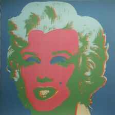 "Andy Warhol - lithographie ""Marilyn"" ed. limité"