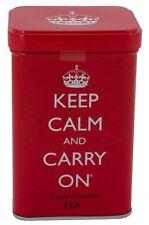 Keep Calm and Carry On Tea Tin, English Breakfast Tea (40 Bags, 125g, 4.4 oz), N