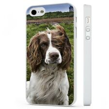 Springer Spaniel Dog Cute Floppy Ears WHITE PHONE CASE COVER fits iPHONE