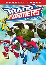 New: TRANSFORMERS ANIMATED - Season 3 (2 DVD SET!)