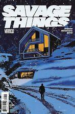 Savage Things Comic Issue 8 Modern Age First Print 2017 Jordan Moustafa Boyd