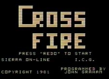 TI-99/4A CROSSFIRE ON 5.25 FLOPPY DISK