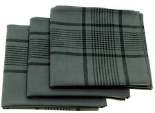 MFH BW Taschentuch 3 Stk. Taschentücher Tuch Schnauztuch Grau 50x50cm