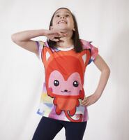 designed by deezo kids Girls Summer Top FREE DELIVERY
