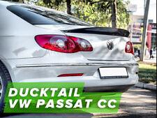 Ducktail, rear spoiler for Volkswagen Passat CC B6 2008-2016
