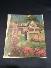 Antique C1930 Wooden Jigsaw Puzzle 270 pcs First Home