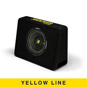 """Kicker Audio CompC 10"""" Thin Profile Loaded Enclosure 2 Ohm - 44TCWC102"""