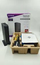 NETGEAR N600 (8x4) WiFi Cable Modem Router C3700, DOCSIS 3.0 Fast Internet