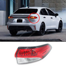 For Toyota Corolla L LE SE Sedan 2020-2021 Right Side Outer Tail Lights Housing