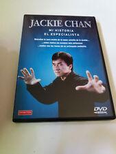 """DVD """"JACKIE CHAN MI HISTORIA / EL ESPECIALISTA"""" COMO NUEVO DOCUMENTALES"""