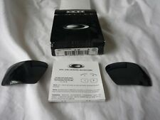 New Oakley Eye Patch 2 II Black Iridium Replacement Lenses+Box 43-399