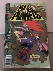 Gold Key Battle of the Planets TV Comic Book #4 1979
