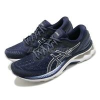 Asics Gel-Kayano 27 Peacoat Navy Grey Men Running Shoes Sneakers 1011A767-400