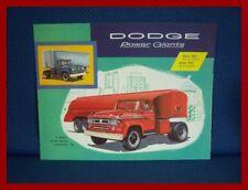 1958 DODGE Model 800 & 900 Truck Sales Brochure - FREE USA Shipping!