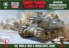 Flames of War U.S. Armored Artillery Battery (UBX12)  NEW