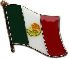 Mexico Mexican Country Flag Bike Motorcycle Hat Cap lapel Pin