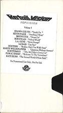 POPVISION 5 VHS Promo 1989 Kate Bush Britney Fox Dylan Colvin 3rd Bass LA Guns +
