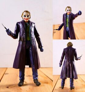 The Dark Knight Joker Action Figure Toy DC Hero Collectible Toy Gift 15cm NO BOX